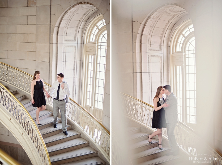 CT Hartford City Hall Engagement Photography