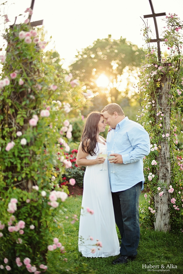 Elizabeth Rose Park Engagement Session in West Hartford CT