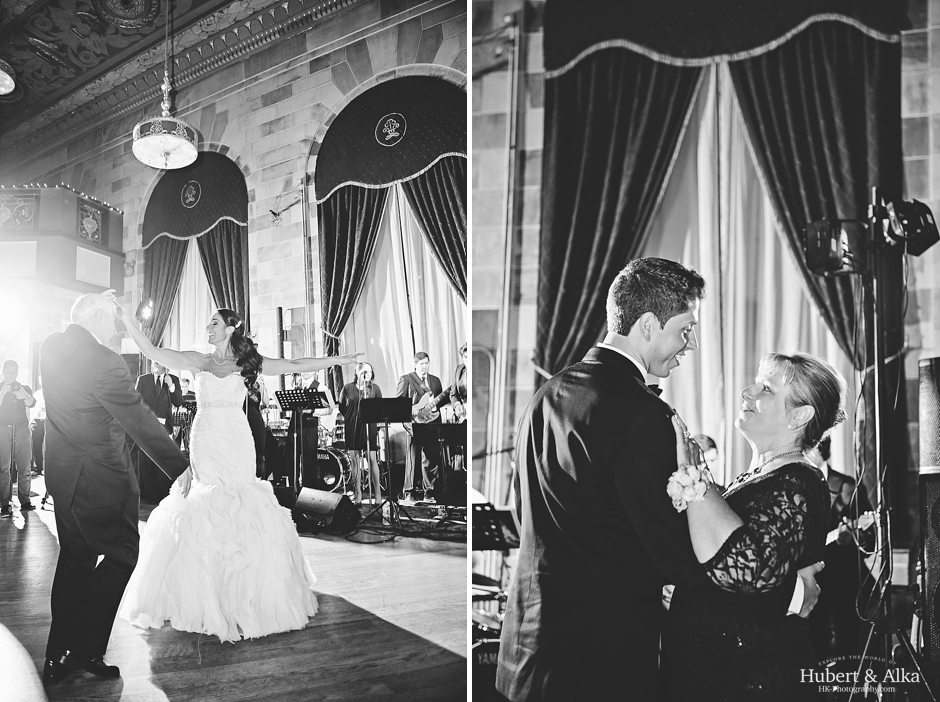 The Society Room of Hartford CT Wedding with HK Photography