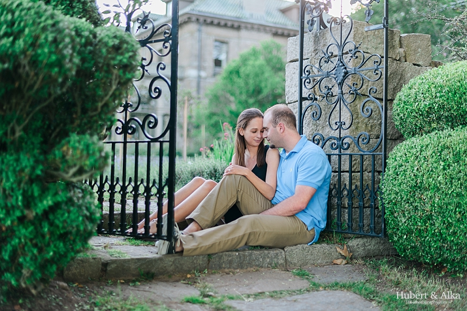 Harkness Memorial Park Summer Engagement Photos