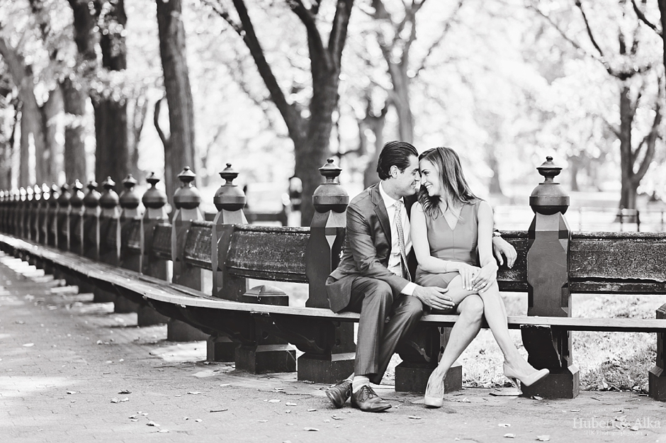 Manhattan Engagement Session Photos