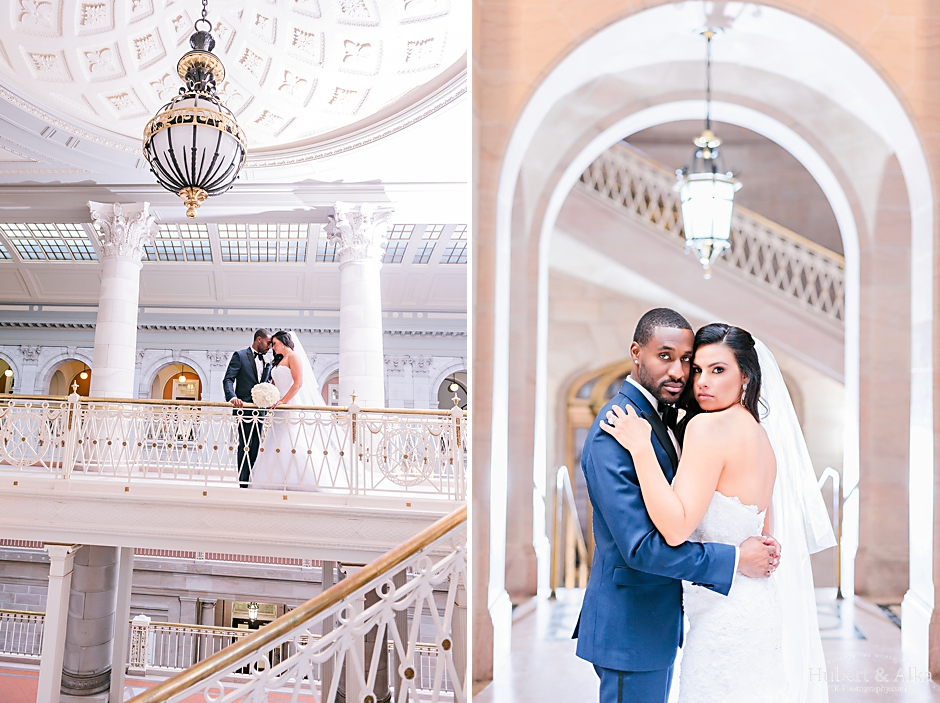 aria wedding prospect ct with wedding portraits at hartford city hall photos