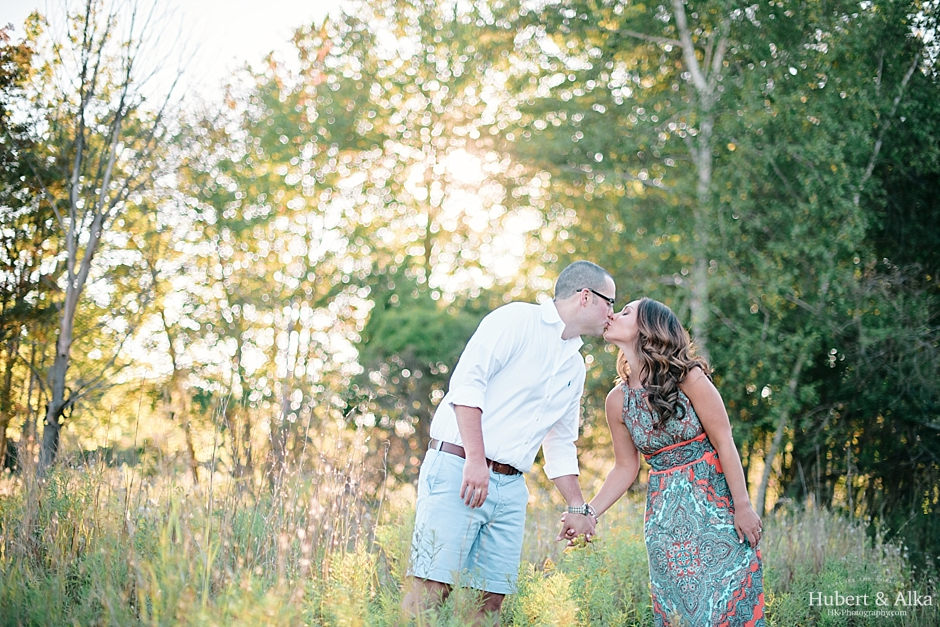 Silver Sands State Park Engagement Session in Milford CT Photographer