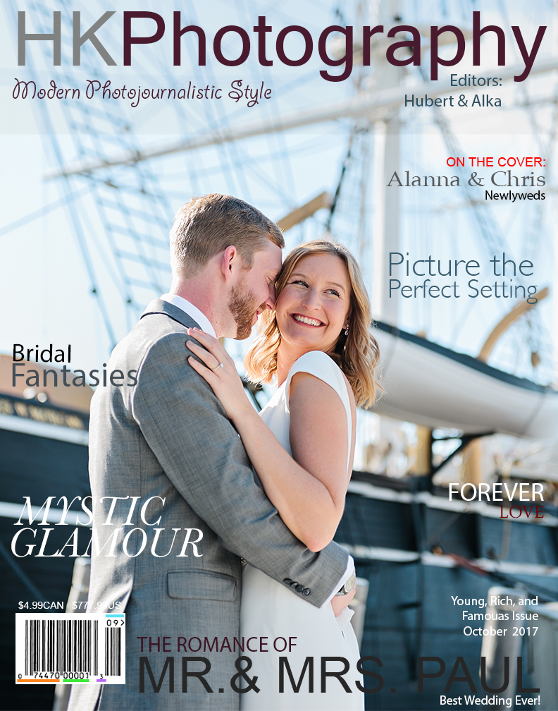 Mystic Seaport CT Wedding at Latitude 41: Alanna and Chris! | HK Photography CT