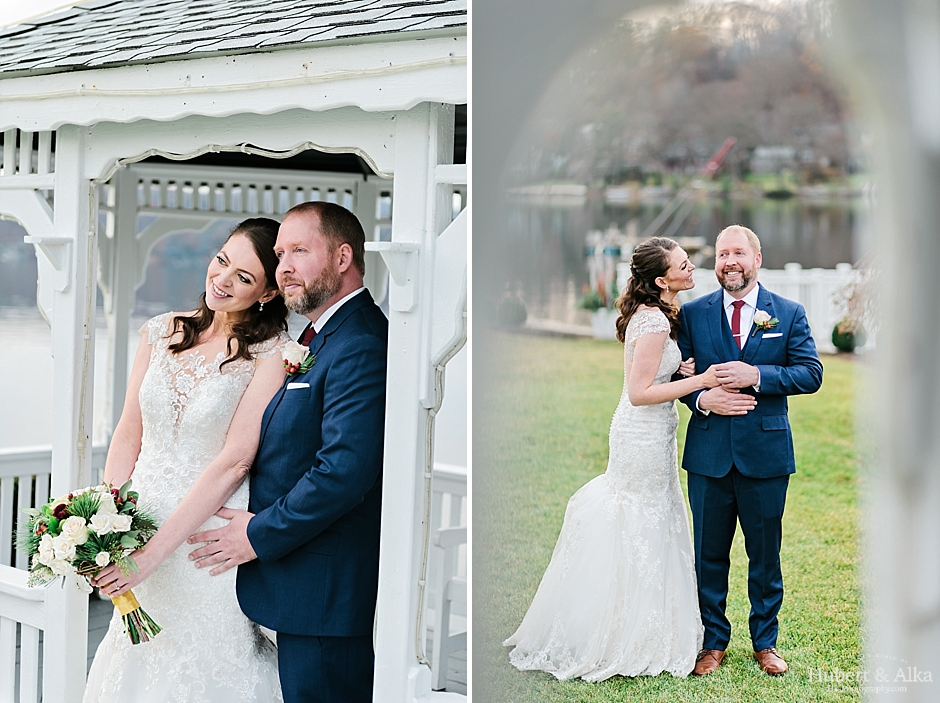 candlewood winter wedding Brookfield CT