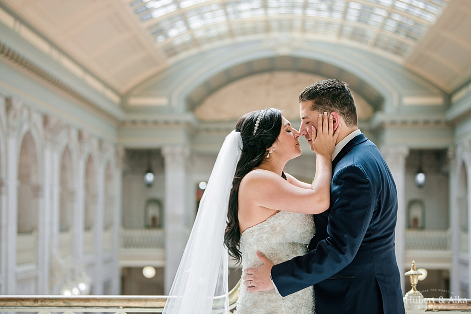 A Society Room Wedding Photography with Hartford City Hall Portraits