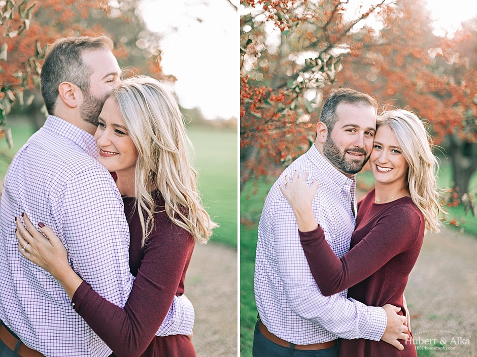 A Topsmead State Forest Autumn Engagement Session | Engagement Photo Ideas in Connecticut