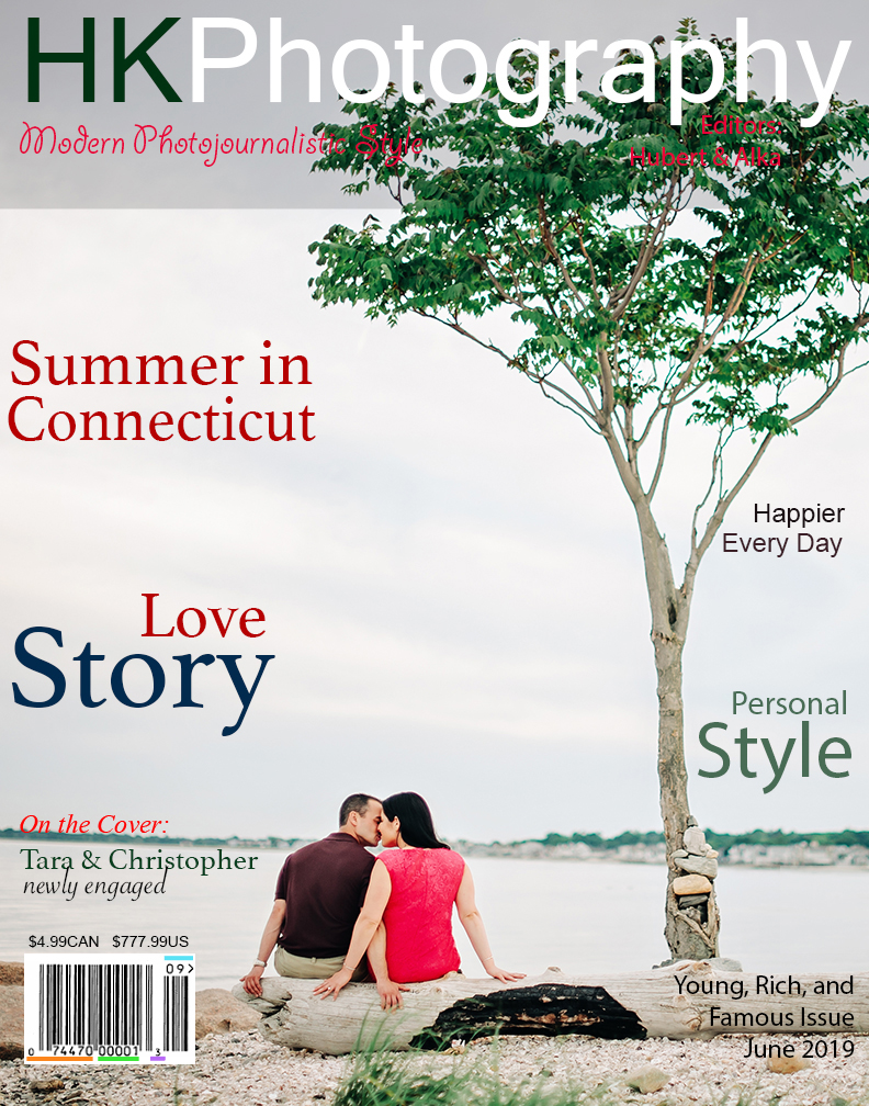 Silver Sands Park Engagement Session in Milford CT