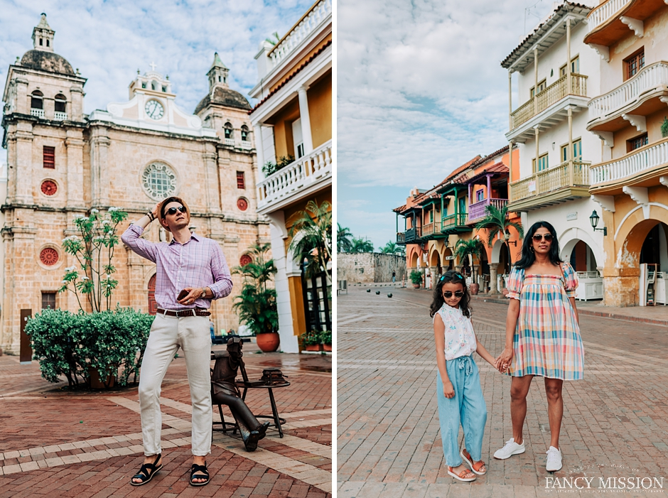 A fairytale summer vacation in Cartagena Colombia