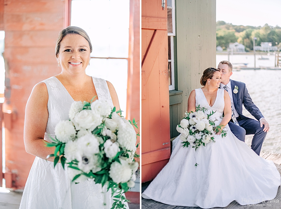 Mystic, CT Seaport Wedding Photography