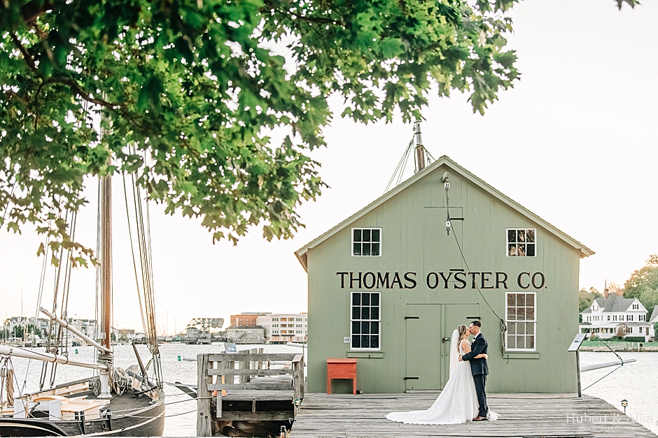 Mystic, CT Seaport Wedding Photography | Latitude 41 | Coastal Gourmet