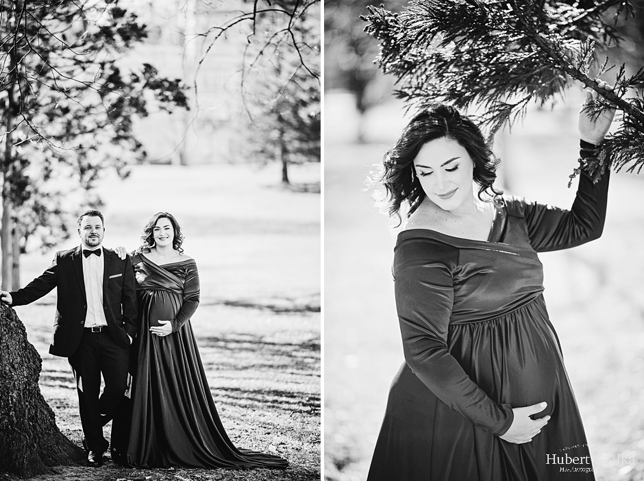 Outdoor Maternity Session in Hartford CT