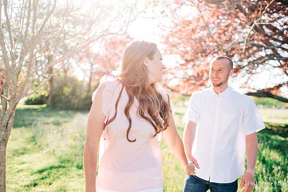 Eolia Mansion at Harkness State Park Engagement Photos